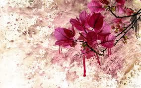 flores con sangre